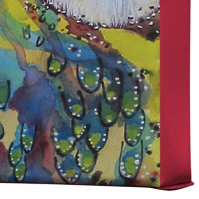 DENY Designs Clara Nilles Owl On Lipstick Gallery Wrapped Canvas