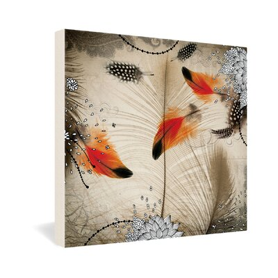 DENY Designs Iveta Abolina Feather Dance Gallery Wrapped Canvas