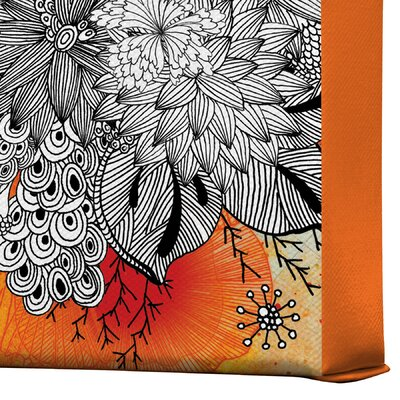 DENY Designs Iveta Abolina Bird Gallery Wrapped Canvas
