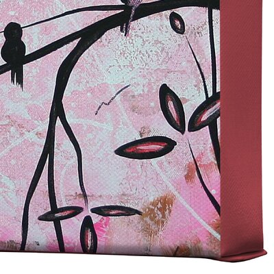 DENY Designs Madart Inc  Cherry Blossoms Gallery Wrapped Canvas
