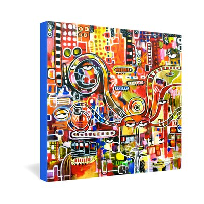 DENY Designs Robin Faye Gates It Came From Detroit Gallery Wrapped Canvas
