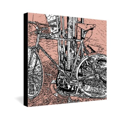DENY Designs Romi Vega Bike Gallery Wrapped Canvas