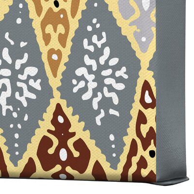 DENY Designs Romi Vega Diamond Tile Gallery Wrapped Canvas