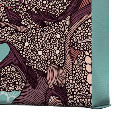 DENY Designs Valentina Ramos Octopus Bloom Gallery Wrapped Canvas
