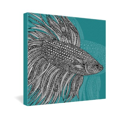DENY Designs Valentina Ramos Beta Fish Gallery Wrapped Canvas