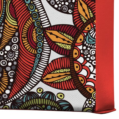 DENY Designs Valentina Ramos Paradise Bird Gallery Wrapped Canvas