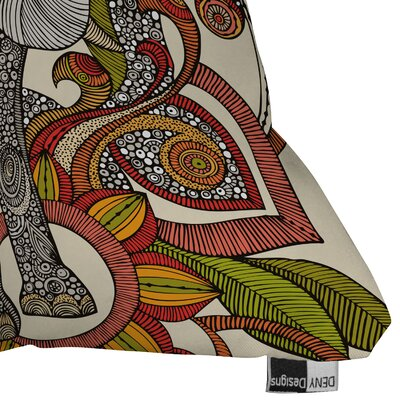 DENY Designs Valentina Ramos Bo The Elephant Indoor/Outdoor Polyester Throw Pillow