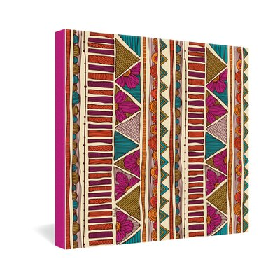 DENY Designs Valentina Ramos Ethnic Stripes Gallery Wrapped Canvas