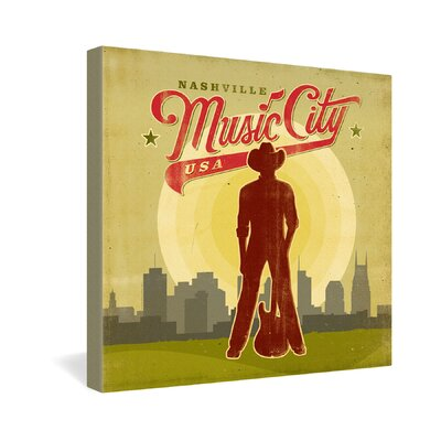Anderson Design Group Music City Gallery Wrapped Canvas