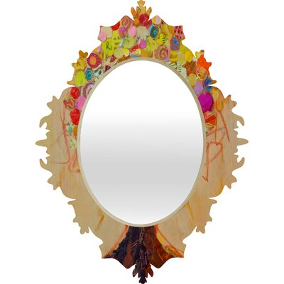 DENY Designs Elizabeth St Hilaire Nelson Summer Tree Baroque Mirror