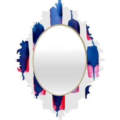 DENY Designs CMYKaren Color Run Baroque Mirror