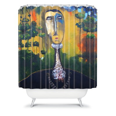 DENY Designs Robin Faye Gates Polyester forest for Trees Shower Curtain