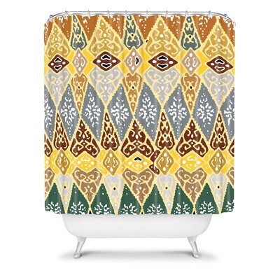 DENY Designs Romi Vega Polyester Diamond Tile Shower Curtain