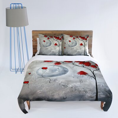 DENY Designs Madart Inc. Far Side Of The Moon Duvet Cover Collection