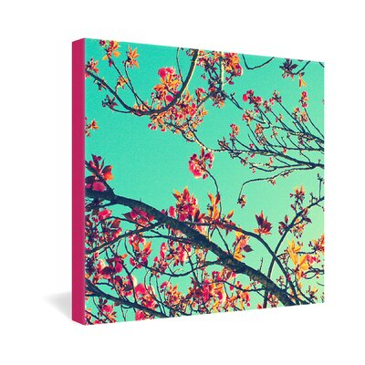 DENY Designs Shannon Clark Summer Bloom Canvas Wall Art