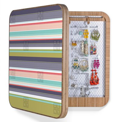 DENY Designs Wendy Kendall Multi Stripe BlingBox