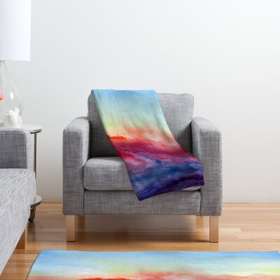 DENY Designs Jacqueline Maldonado Arpeggi Polyester Fleece Throw Blanket