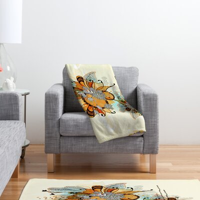 DENY Designs Iveta Abolina Sunset 2 Polyester Fleece Throw Blanket