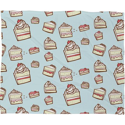 DENY Designs Jennifer Denty Cake Slices Polyester Fleece Throw Blanket