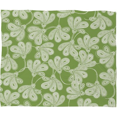 DENY Designs Khristian A Howell Provencal Thyme Polyester Fleece Throw Blanket