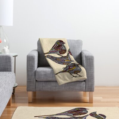 DENY Designs Valentina Ramos 3 Kings Polyester Fleece Throw Blanket