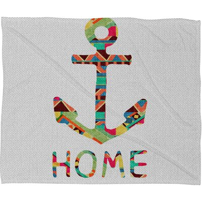 DENY Designs Bianca Green You Make Me Home Polyester Fleece Throw Blanket