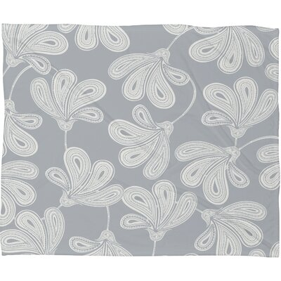 DENY Designs Khristian A Howell Provencal Gray 1 Polyester Fleece Throw Blanket
