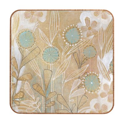DENY Designs Cori Dantini Blue Floral Wall Art
