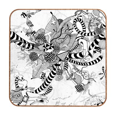 DENY Designs Iveta Abolina Black And White Play Wall Art