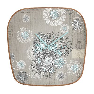 DENY Designs Iveta Abolina French Blue Clock