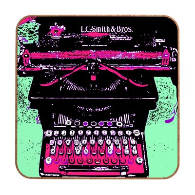 DENY Designs Romi Vega Antique Typewriter Wall Art