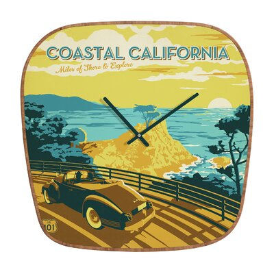 DENY Designs Anderson Design Group Coastal California Clock