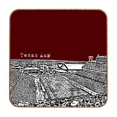 DENY Designs Bird Ave Texas A and M Maroon Wall Art