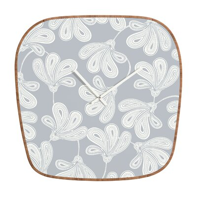 DENY Designs Khristian A Howell Provencal Gray 1 Clock