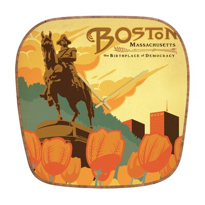 DENY Designs Anderson Design Group Boston Clock