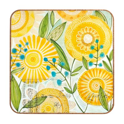 DENY Designs Cori Dantini Sun Burst Flowers Wall Art