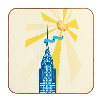 DENY Designs Jennifer Hill New York City Chrysler Building Wall Art