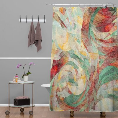 DENY Designs Jacqueline Maldonado Woven Polyester Rapt Shower Curtain