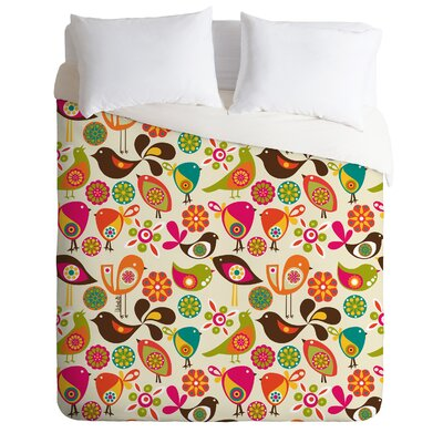 DENY Designs Valentina Ramos Little Birds Duvet Cover