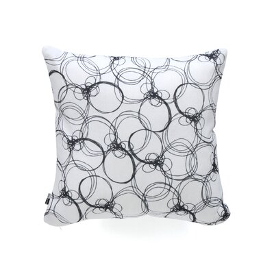 DENY Designs Rachael Taylor Circles Woven Polyester Throw Pillow