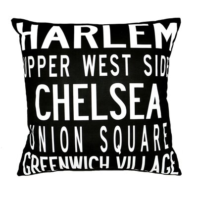 Uptown Artworks NY Pillow