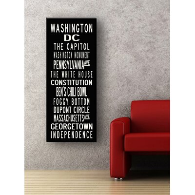 Uptown Artworks Washington DC Sign Art