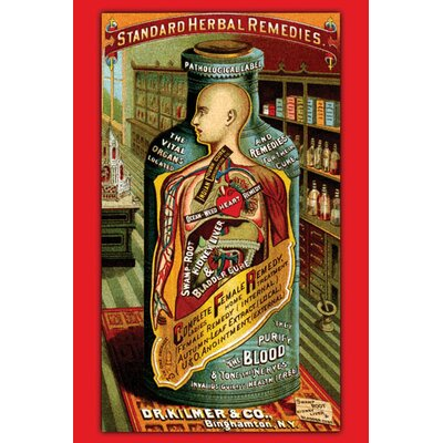 Buyenlarge Dr. Kilmer's Standard Herbal Remedies Canvas Art
