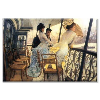 Buyenlarge Gallery of The H.M.S. Calcutta Canvas Wall Art
