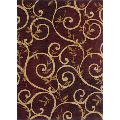 kathy ireland Rugs by Shaw Living International First Lady El Palicio Ancient Red Rug