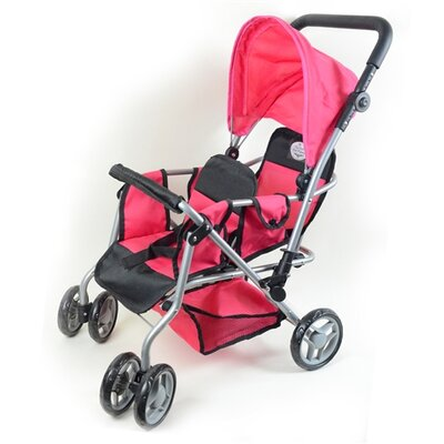 The New York Doll Collection My First Doll Twin Stroller