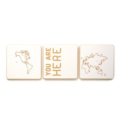 Sprout World Map 3 Tile Art Set