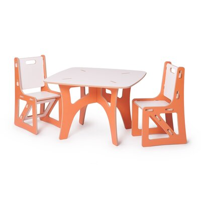 Sprout Kids 3 Piece Table and Chair Set