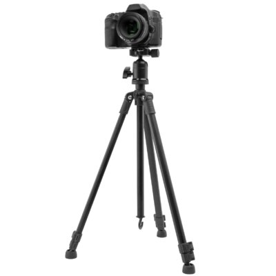 "Dolica 57"" Professional Aluminum Tripod with Ball Head"