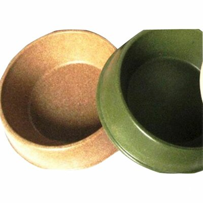 The Green Pet Shop Bamboo Dog Bowl